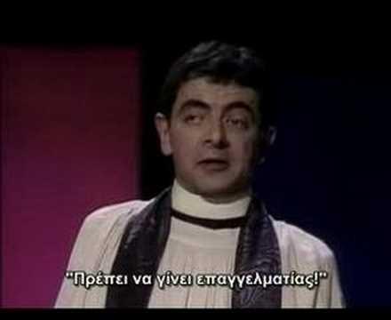 Rowan Atkinson Live: The Cana Miracle (Greek Subs)