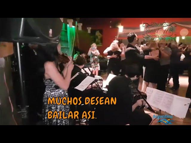 Milonga El beso, orquesta de tango Los Herederos del Compas, cantor Pablo Ramos, Buenos Aires 2019