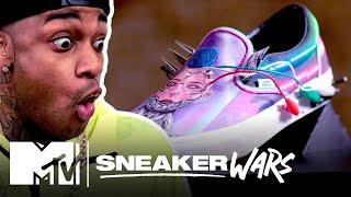 Custom VANS Slip-On Challenge | MTV Sneaker Wars