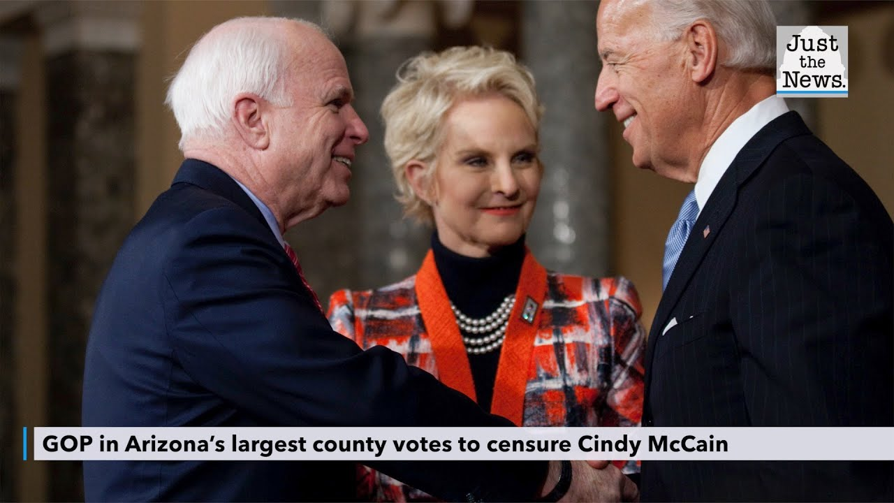 GOP in Arizona's largest county votes to censure Cindy McCainState GOP