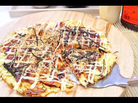 พิซซ่าญี่ปุ่น - โอโคโนมิยากิ Okonomiyaki