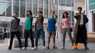 "Power Rangers Dino Charge Episode 16 ""No Matter How You Slice It"" - Rangers Morph 16 (1080p HD)"