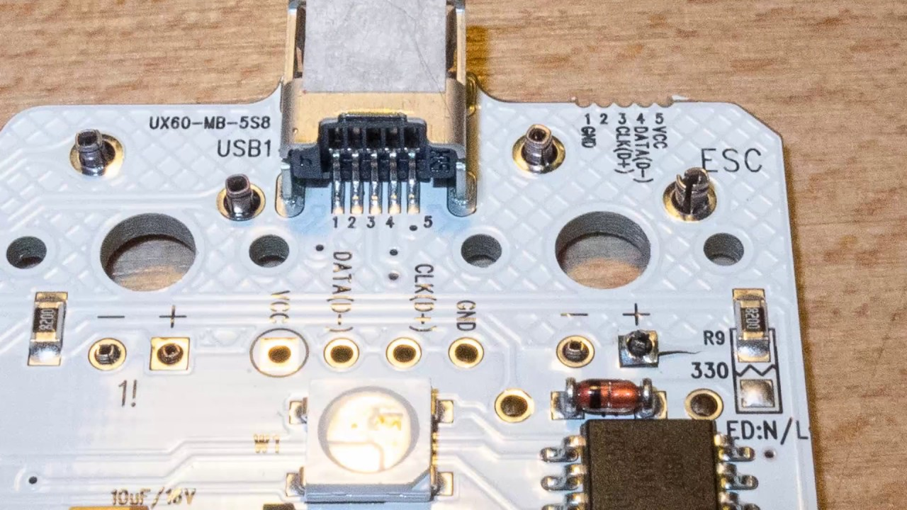 How to make your keyboard PCB hot-swappable