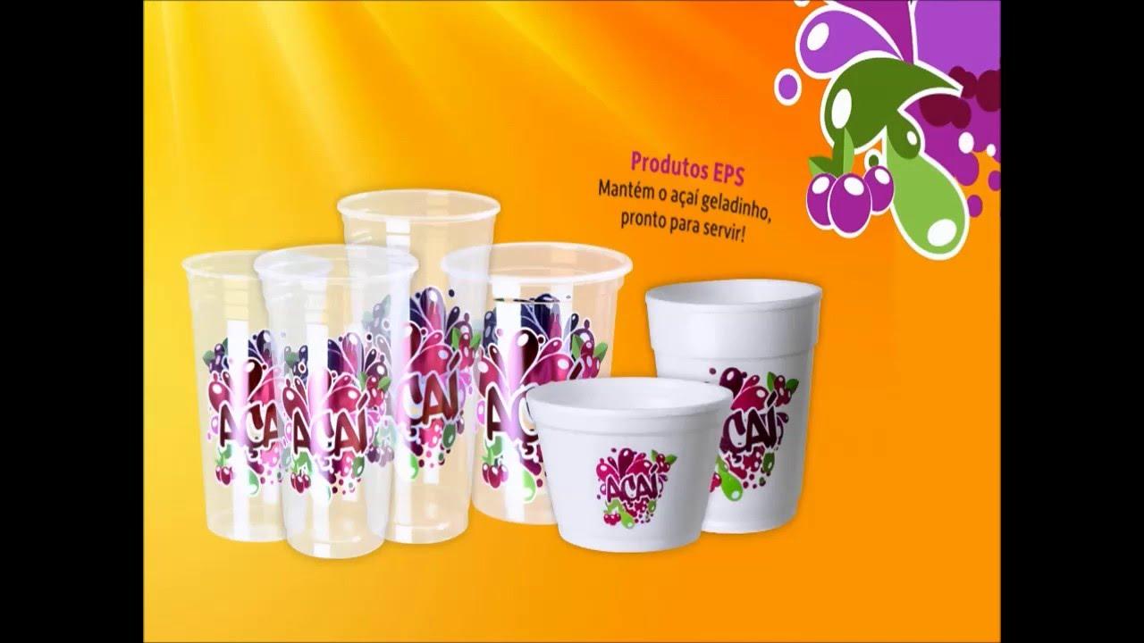 Potes personalizados aa e sorvete Copobras  YouTube