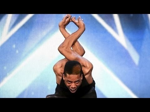 Britain's Got Talent 2015 S09E06 Junior AKA Bonetics Contortionist Dance Routine Makes You Cringe