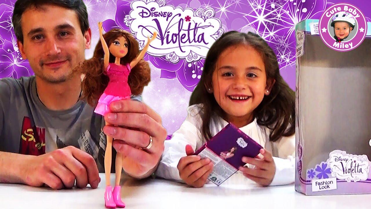 Violetta Disney Fashion Look Unboxing Deutsch Makeup