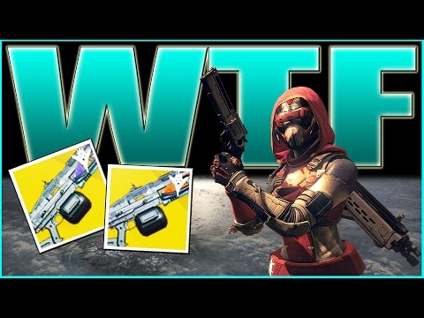 Destiny | WTF IS THIS HUNTER THINKING! New Event Weapons - The Dawning!