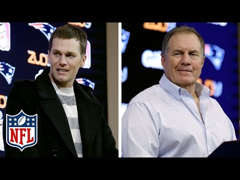Bill Belichick, Tom Brady & Devin McCourty on Brady Setting Record for QB Victories All-Time | NFL