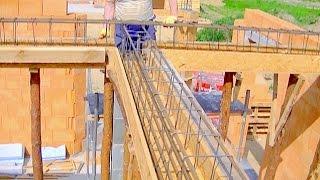 Budowa domu. Część 3 - Strop. Jak wykonać szalunki podciągów