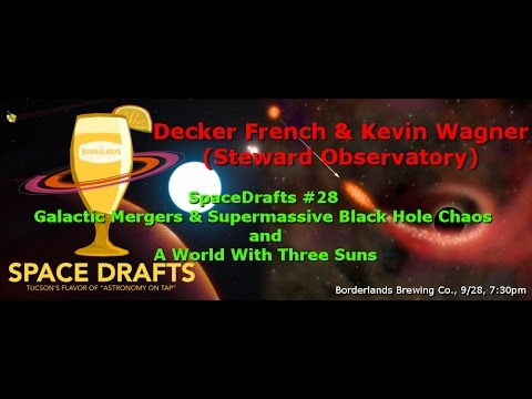 Space Drafts #28: Decker French on Supermassive Black Hole Chaos
