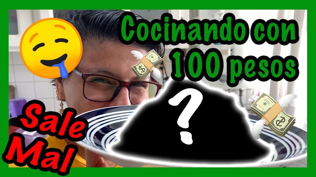 COCINANDO CON 100 PESOS SALE MAL!! - Ariana Bolo Arce