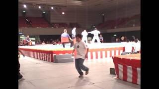 第24回全日本ウエイト制空手道選手権大会:2007年6月24日:大阪府立体育...