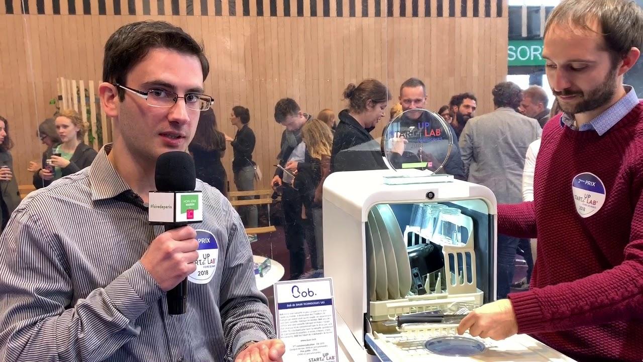Bob Le Mini Lave Vaisselle De Daan Tech 2ème Prix Du Start Up Lab
