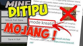 JANGAN PERNAH DOWNLOAD MINECRAFT PE TRIAL, NYESEL PASTI ! MENDING LANGSUNG YANG ORIGINAL ! screenshot 3