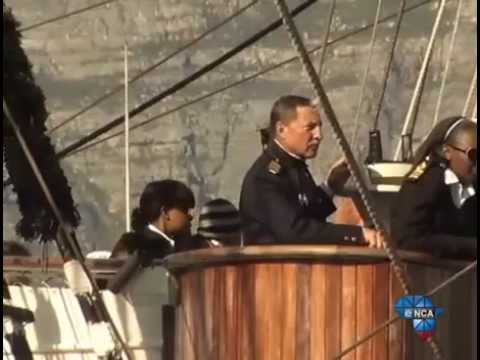 Ship Ahoy! The Sedov first visited South African shores in 1936 :: eNCA