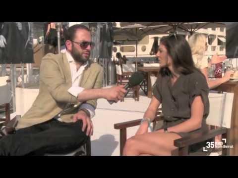 Razane Jammal  Actress  Cannes 2012
