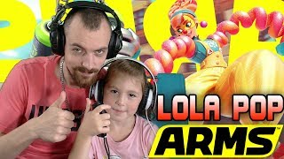 Kimberley VS Whity LOLA POP GAMEPLAY - Nintendo Switch Arms neuer Kämpfer Lola Pop German | EgoWhity