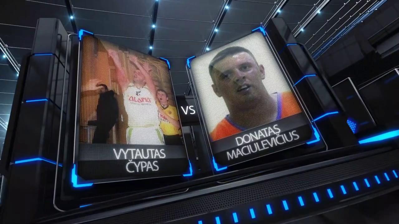 TOPsport Ghetto King 1x1: Vytautas Čypas vs Donatas Maciulevičius