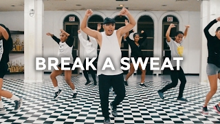 Becky G - Break a Sweat Dance | @besperon Choreography #DanceAndSweat