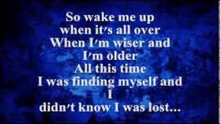 Wake Me Up (Lyrics) - AVICII feat. Aloe Blacc