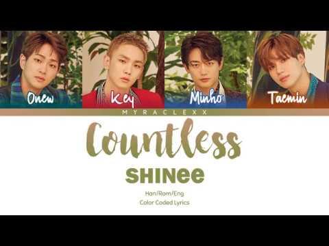 SHINee (샤이니) - Countless (셀 수 없는) Lyrics [Color Coded-Han/Rom/Eng]