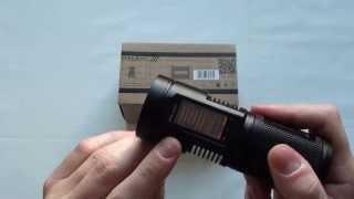 Аккумуляторный светодиодный фонарь Imalent T4A Обзор