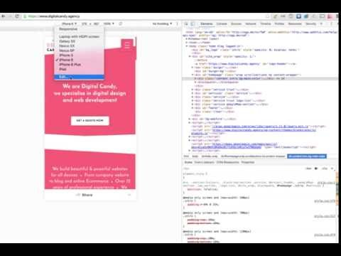 How To Test Your Website Layout On Any Screen Size Using Google Chrome Dev Tool