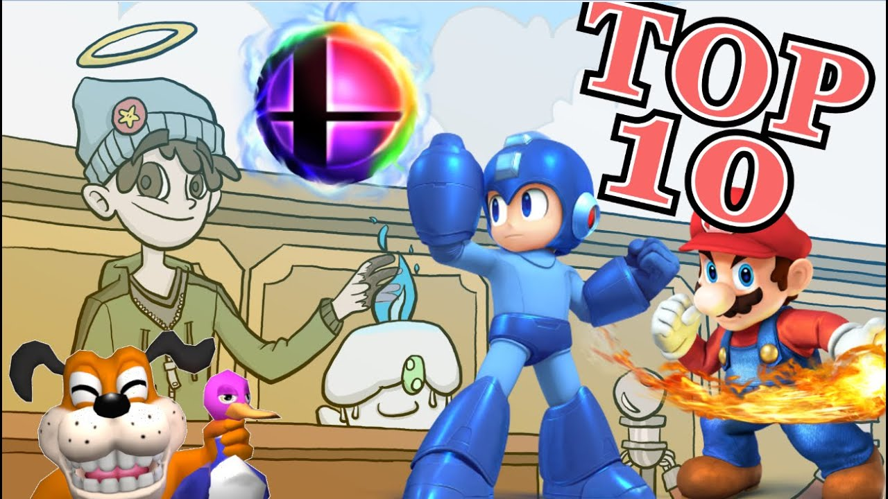 Top 10 Super Smash Bros Characters For 3DS