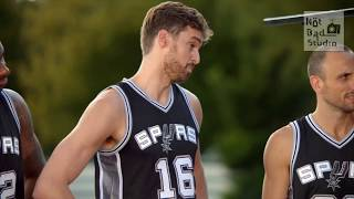 【HEB x Spurs NBA Funny Commercial 2017】中文字幕