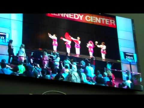 National Dance Day Kennedy Center 2017 Fairfax Chinese Dance Troupe