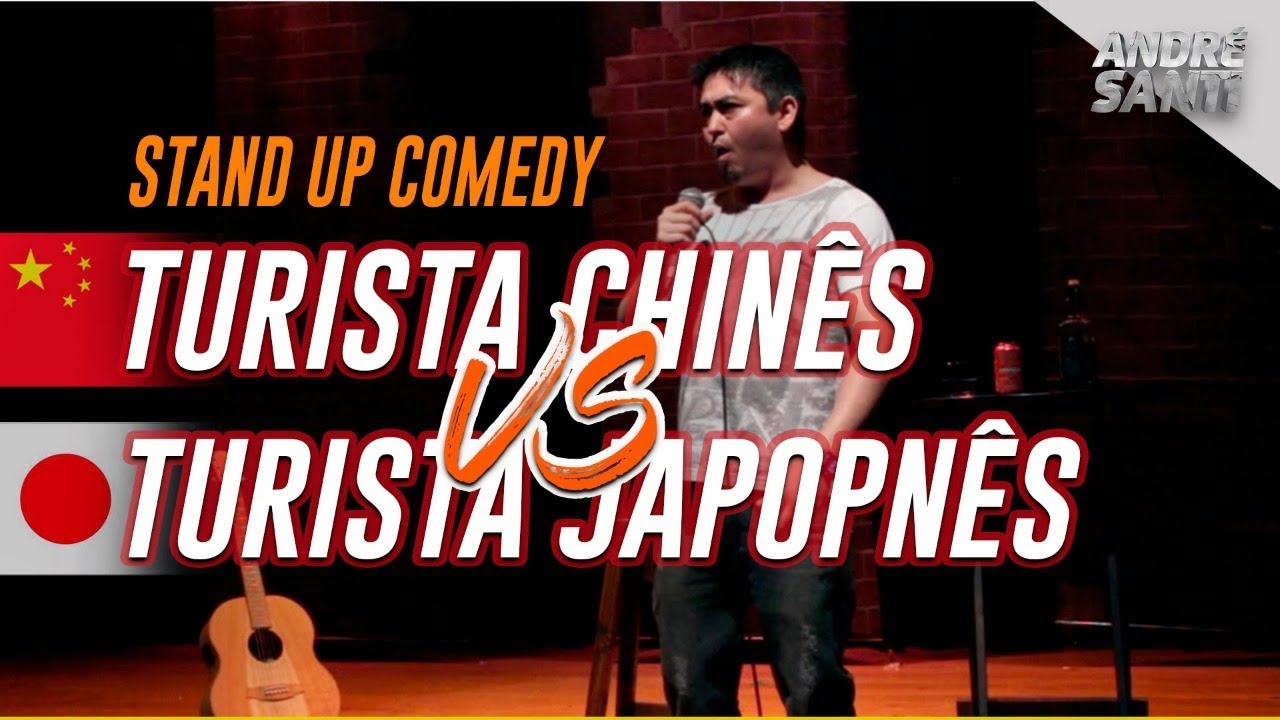 TURISTA CHINÊS vs. TURISTA JAPONÊS - Stand Up Comedy - André Santi