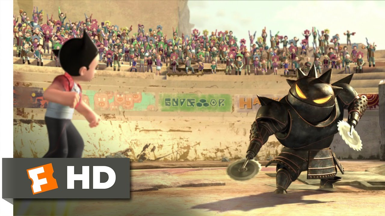 Download Astro Boy (7/10) Movie CLIP - Robot Wars (2009) HD