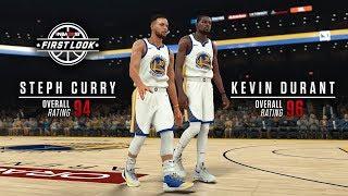 NBA 2K18 Stephen Curry Kevin Durant Gameplay Screenshot ⋆#NBA2K18⋆ 🔥⛹️🏀🎮