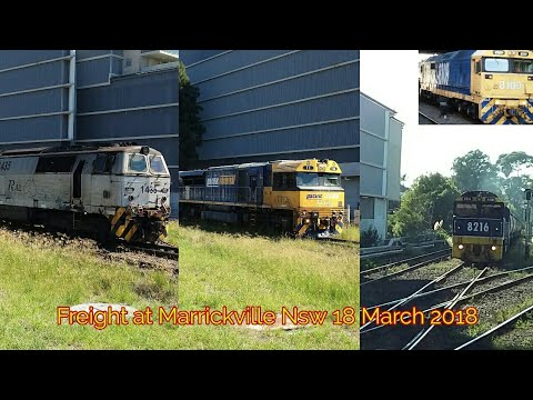 Freights at Marrickville Nsw | 18 March 2018