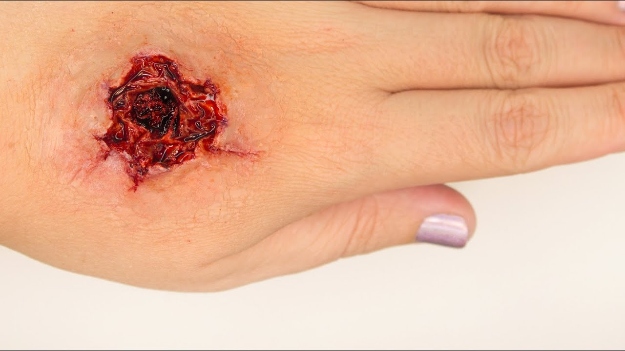 fx makeup series exit wound youtube