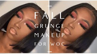Easy Fall Grunge Look| Go To Fall Look for WOC