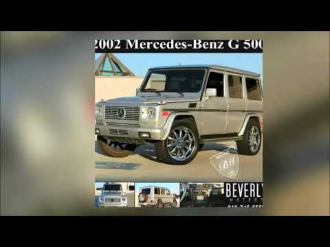 Glendale Auto Leasing : 02 Mercedes-Benz G500 For Sale By Beverly Motors Inc.
