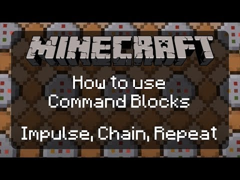 How To Use Command Blocks In Minecraft: The Basics Of Impulse, Chain, And Repeating | 1.12.2