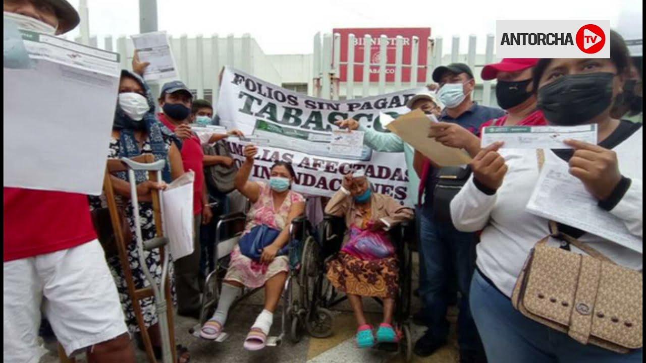 50 mil tabasqueños exigen a AMLO un plan hídrico contra las inundaciones