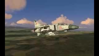 Миг-23mld -Тот Ещё~ Старичок... Лучше Было Не Трогать... :)