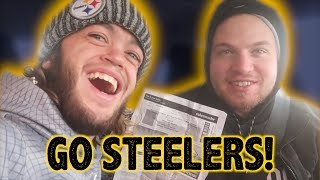 I GOT MY BROTHER $1000 STEELERS TICKETS!!