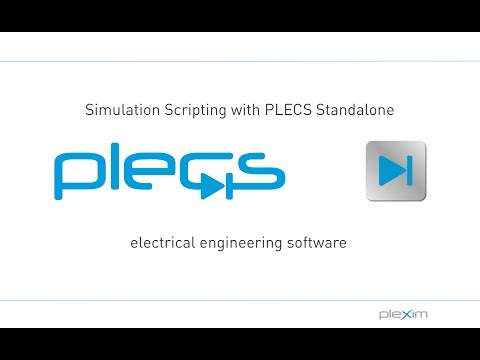 Simulation Scripting with PLECS Standalone