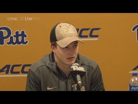 Football | Kenny Pickett Postgame | Virginia Tech