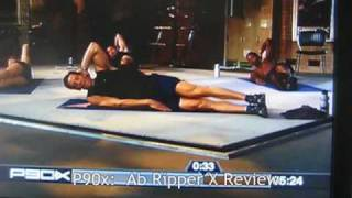 P90x - Ab Ripper X Review: 10 mins. of Ab Burning- Full Version :)