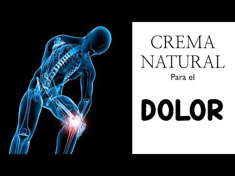 Crema Natural para  DOLOR de ESPALDA, muscular, rodilla, articulaciones... 100% EFECTIVA!!