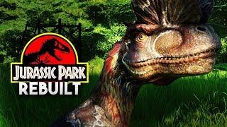 THE DILOPHOSAURUS PADDOCK! | Jurassic Park 1993 Rebuilt (Jurassic World: Evolution)