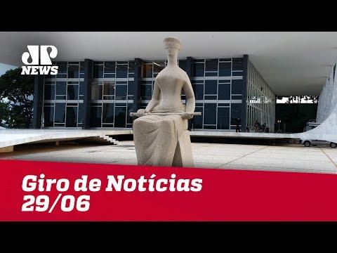 Giro De Notícias Jovem Pan - 29/06 - Primeira Edição