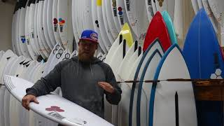 Channel Islands Rocket 9~Surfboard Reviews