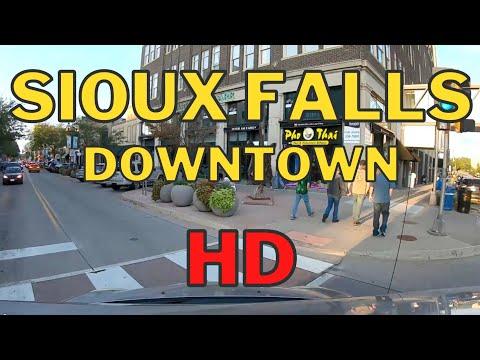 Sioux Falls in HD! - Driving Downtown - Sioux Falls, South Dakota Living