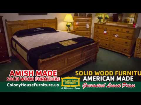 Colony House Furniture Chambersburg Pa Model colony house amish made  youtube